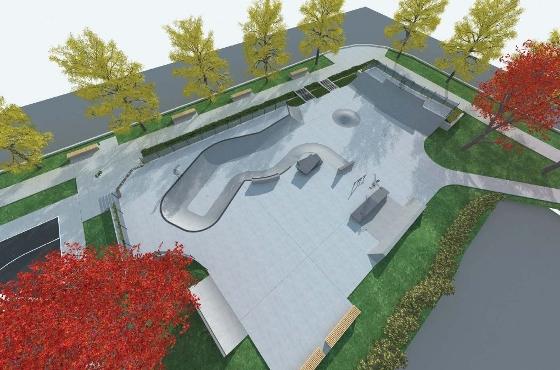 skateboard, bmx, rollerblade park in UBC